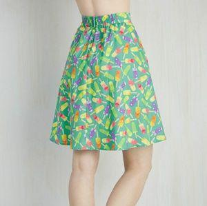 Modcloth x Retrolicious Popsicle Skirt